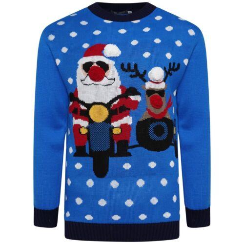 Unisex Uomini Donne Ragazze Novità di Natale Vintage Christmas Light Up Maglione Pullover
