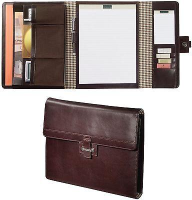 Cutter & Buck American Classic Tri-Fold Genuine Leather Business Padfolio - New