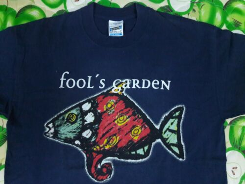 VINTAGE RARE FOOLS GARDEN DISH OF THE DAY T SHIRT