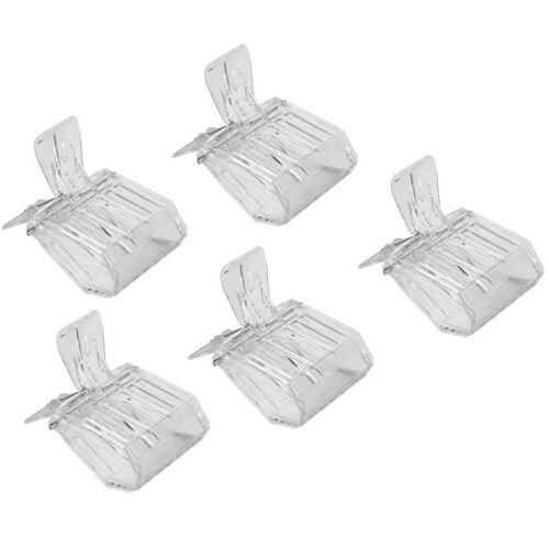 5 x Kunststoff Haarspange Queen Kaefig Biene Catcher Fangen Imker Werkzeug W7 6X