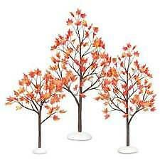 Department 56 (NEW) Autumn Maple Trees - Set of 3  #810845