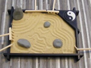 Details About Mini Zen Garden Tabletop Zen Garden Kit Diy Zen Garden Desktop Zen Garden