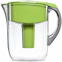 Brita Grand Water Filter Pitcher, Green, 10 Cup , New, Free Shipping on sale