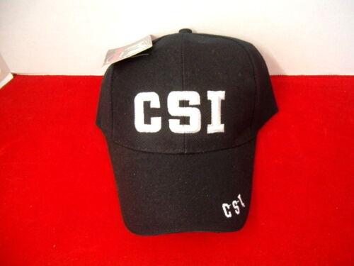 CSI BASEBALL STYLE EMBROIDED ADJUSTABLE HAT