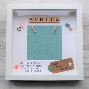 Personalised Frame Present Gift Auntie Mum Mother Sister Birthday