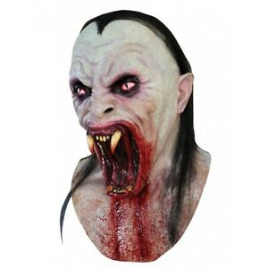 Vampire-Snake-Head-and-Neck-Latex-Mask-Ghoulish-Fancy-Dress-Halloween-Adult