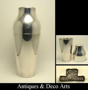 Christofle-Large-Silver-plated-Modernist-Art-Deco-Cocktail-Shaker