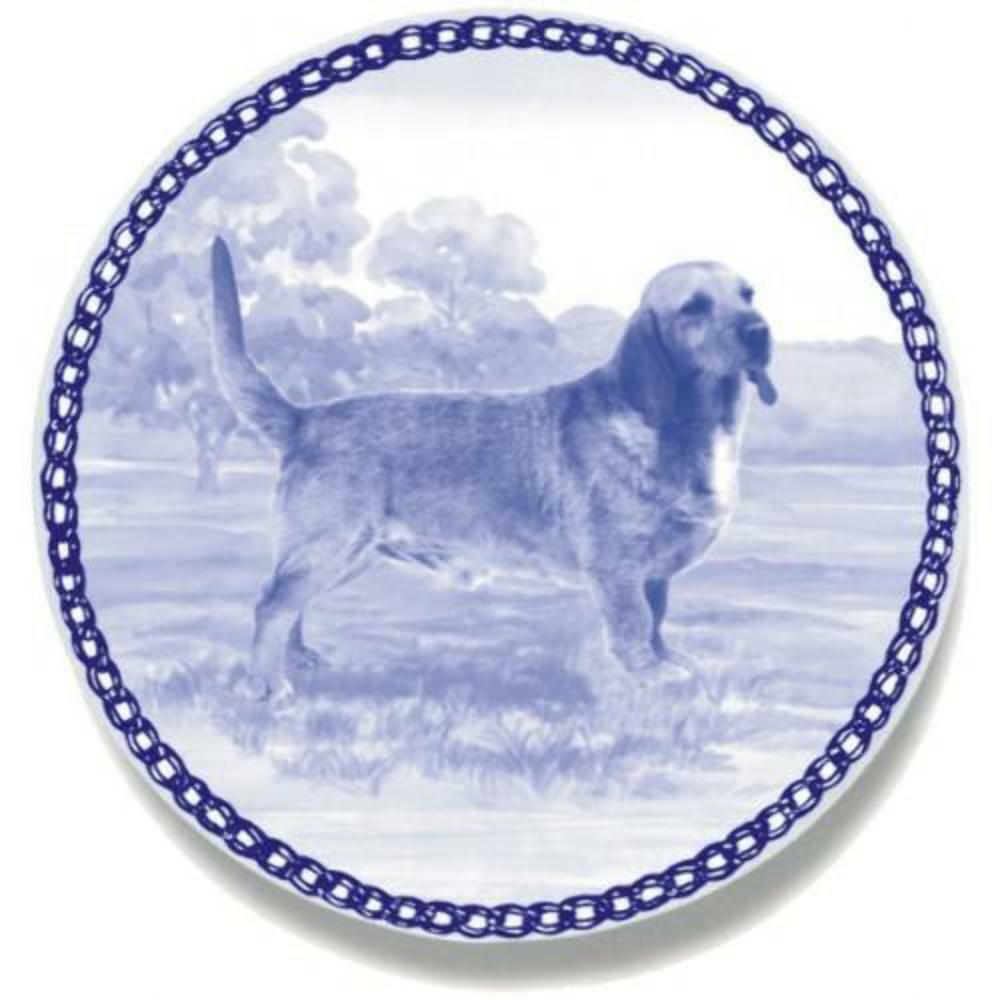 Basset Fauve de Bretagne - Dog Plate made in Denmark from the finest European Po