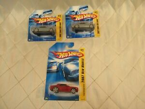 Hot-Wheels-2007-First-Editions-New-Models-Dodge-Challenger-Concept-lot-of-3-New