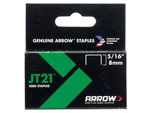 Arrow JT21 Staples 6mm - 10mm for T27 TT21 Rapid 53 Tacwise Bosch Gun Tacker