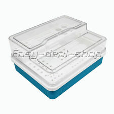 Dental Disinfection Box Endodontic Drill Organizer Root Canal Files Holder
