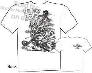 Chopper-Rat-Fink-T-shirt-Bid-Daddy-Ed-Roth-T-Shirts-Hogs-Tee-Sz-M-L-XL-2XL-3XL