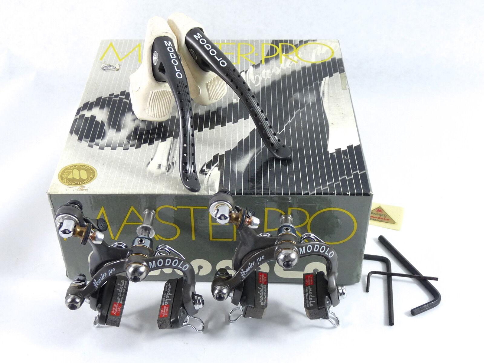 Modolo Master Pro brake set Titanium Vintage  Lemond Racing Bicycle Hinault NOS  incredible discounts