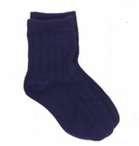 COUNTRY KIDS JEFFERIES Cotton Dress Rib Crew Socks AgeS 1-10+