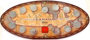 1999-CANADA-CANADIAN-MILLENNIUM-25C-SET