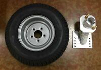 20.5x8-10 (205/65-10) Class E Trailer Tire With Triton 08519 Spare Tire Carrier