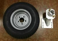 20.5x8-10 (205/65-10) Class E Trailer Tire With Triton 08519 Spare Tire Carrier
