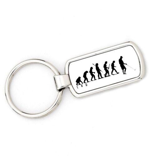 Mans Evolution APE TO METAL DETECTOR Key Ring  brand new gift present EVO