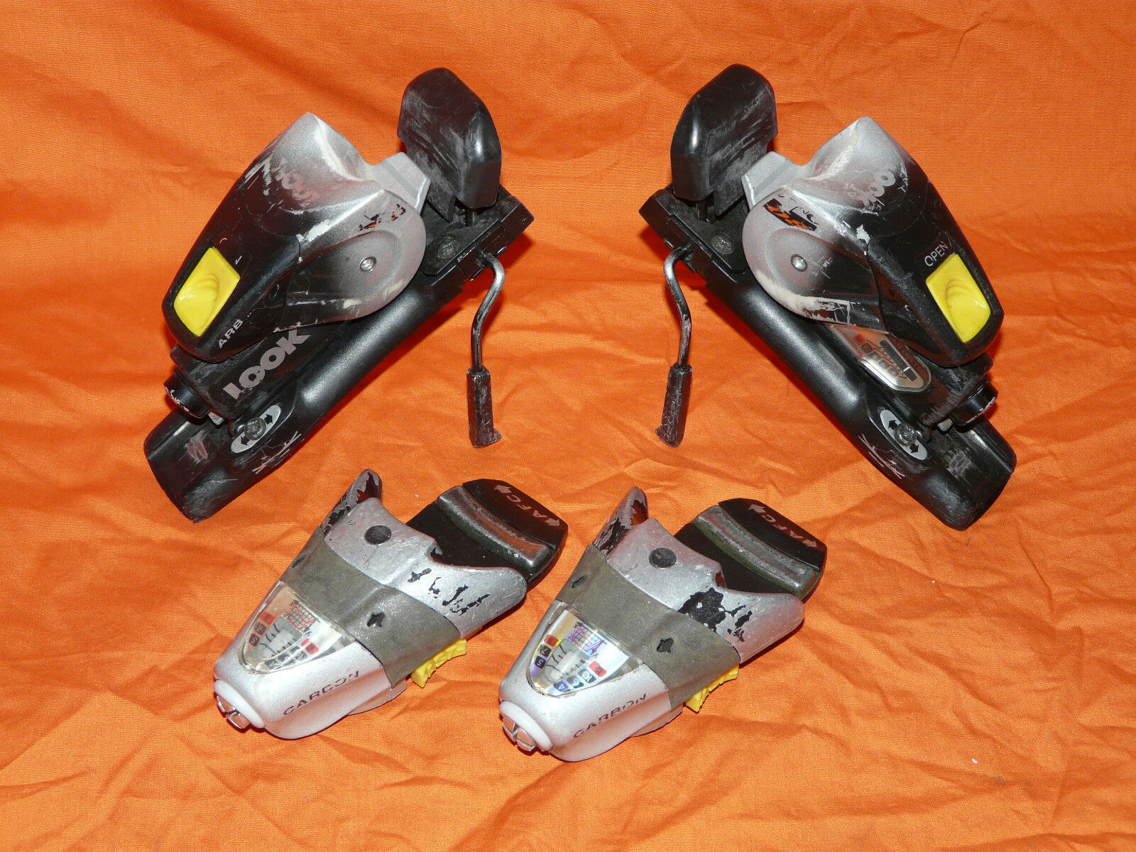 LOOK TC 08 Alpine Downhill Ski Bindings 80mm brake DIN 4-12 SNOW   ✱ ✻ ✼