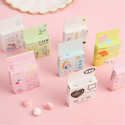 40pcs Set Cute Kawaii Scrapbooking Diary Label Stickers Decals Diy Stationery Ebay