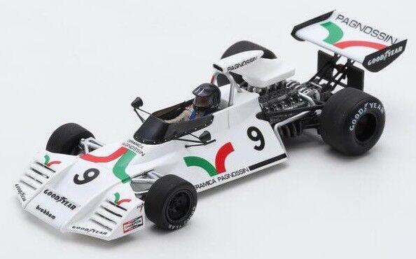 Spark models S5269 1 43 Brabham BT42 1973 ANDREA DE ADAMICH British GP F1 Modèle