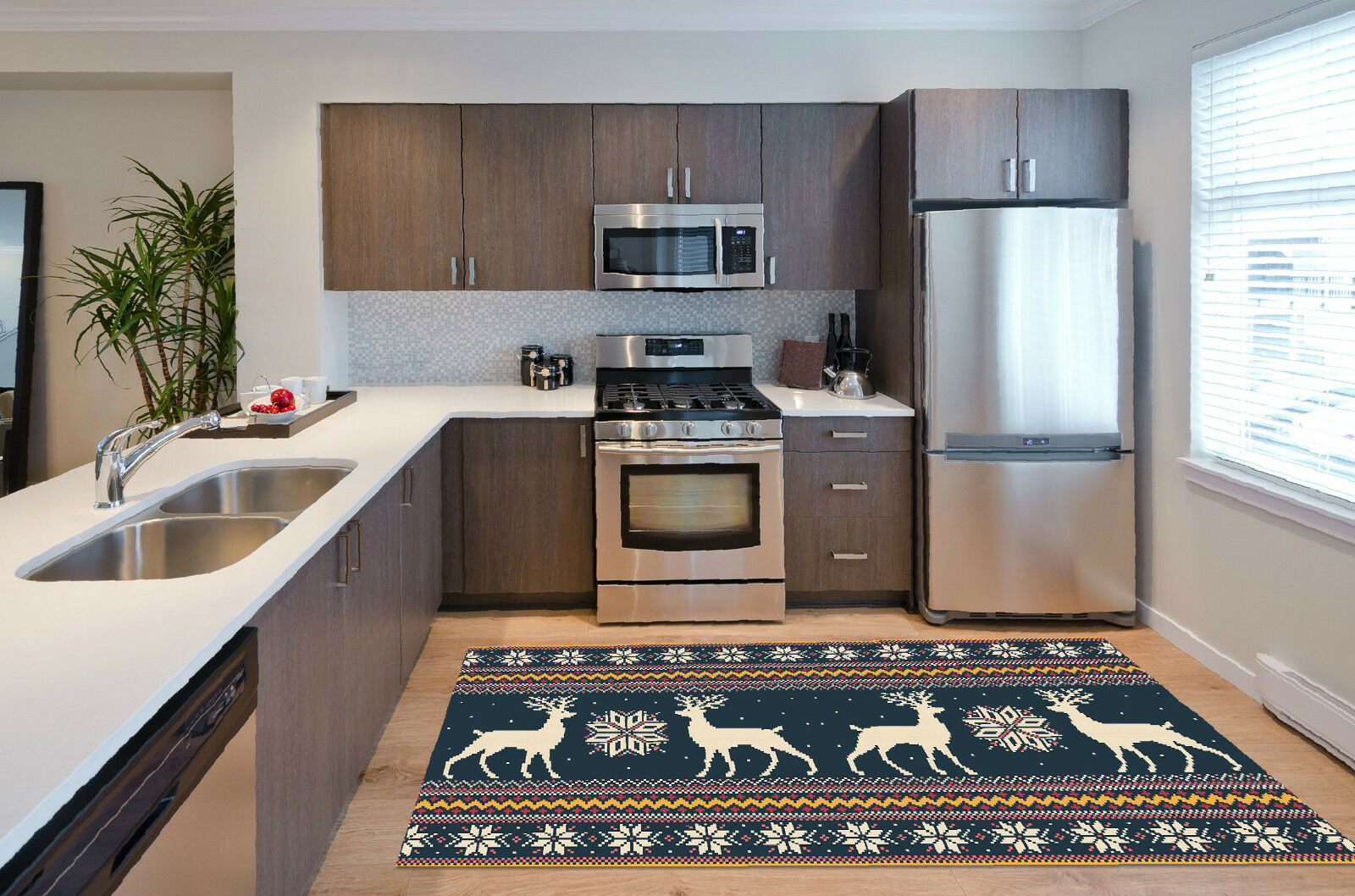 3D Animal Pattern Kitchen Mat Floor Murals Wall Print Wall Deco AJ WALLPAPER CA