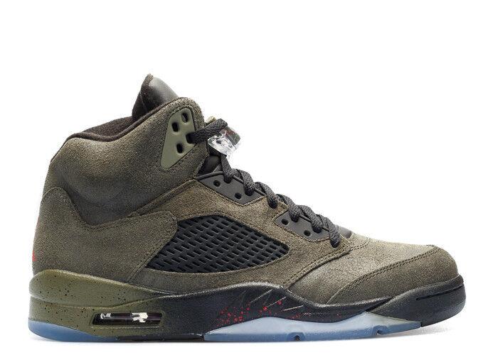 2013 Nike Air Jordan 5 V Retro Fear Size 12. 626971-350 1 2 3 4 6