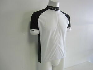 Verge-Black-White-Short-Sleeve-Cycling-Jersey-XXL-2XL-New-Old-Stock