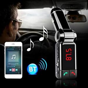BC06 5V//2.1A Bluetooth FM Transmitter MP3 Player Support Hands-free Car Charger
