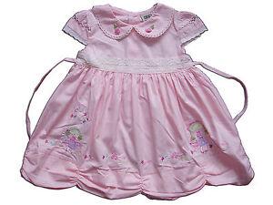 Bebe-fille-en-coton-robe-de-soiree-rose-jaune-blanc-6-9-12-18-mois