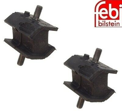 2 Meyle Rear Left+Right Transmission Mounts Support Mountings Set for BMW 525i