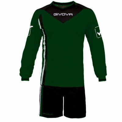 Bello Kit Da Portiere Santiago Givova Goalkeeper Soccer Football Con Imbottitura Color