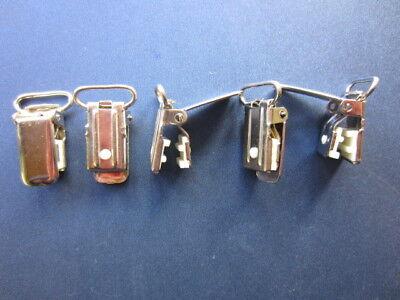 Beliebte Marke 40 Wimpelclips Wimpel Clips Hosenträger Schnullerketten Hosenträgerclips 18mm