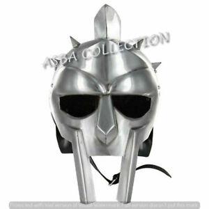Armor,18 gauge BLACK FINNISH Gladiator IRON Helmet Medieval Helmet of REPLICA