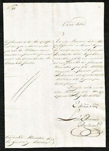 1825 ORIGINAL CALIFORNIA GOVERNOR AUTOGRAPH DOCUMENT  LUIS ANTONIO ARGÜELLO