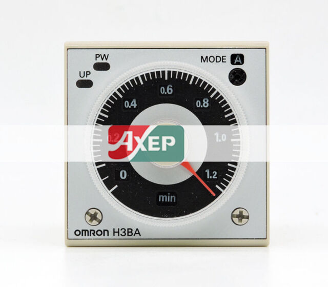 1pc Industrial Timer H3C-R AC//DC 24~240Vin 1.2S~300H ANLY Taiwan