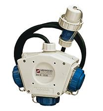 Mennekes Dreifachverteiler Feuerwehr Deltabox 230V 1,5m IP68 H07RN-F3G2.5