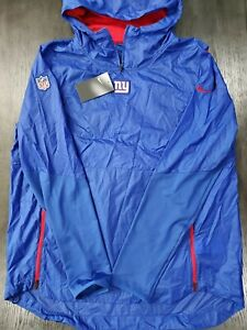 Details about New Men's Nike New York Giants Alpha Fly Rush Pullover Jacket Hoodie 906446 495