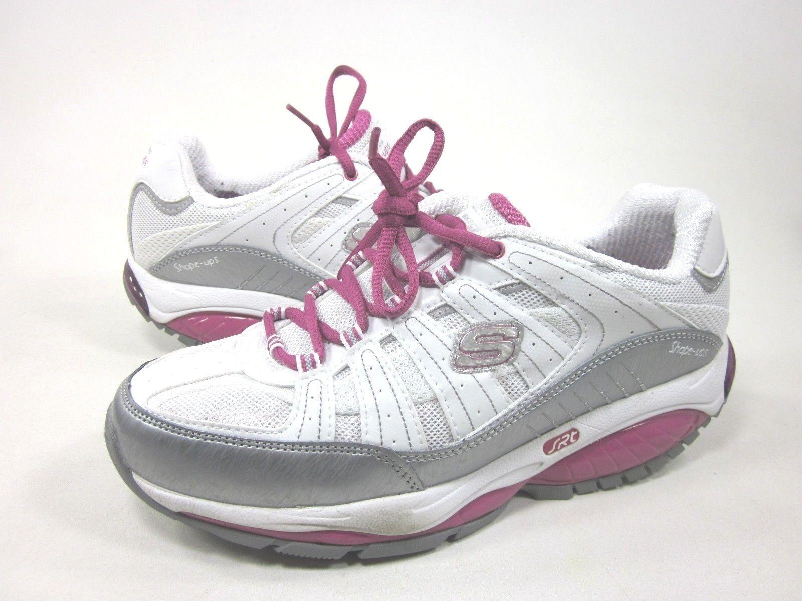 SKECHERS femmes SHAPE UPS KINETIX RESPONSE WALKING Chaussures ,blanc/rose,US SIZE 8.5
