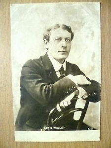 1903-Used-Postcards-Theatre-Actor-LEWIS-WALLER