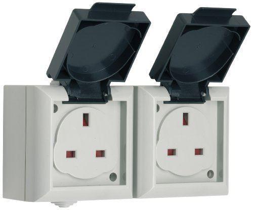 SMJ IP54 outdoor Socket 13 A gamme