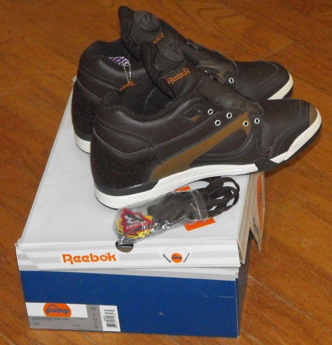 7e917996c3 W/box 2011 Reebok Court Victory Pump Size 11 Bomber Jacket Edition