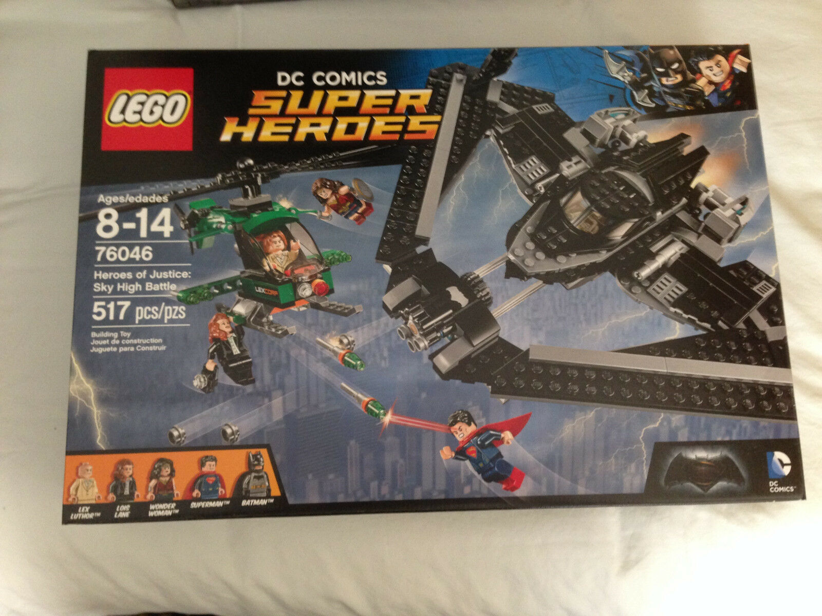 LEGO Heroes of Justice Sky High Battle 517pcs FREE SHIPPING