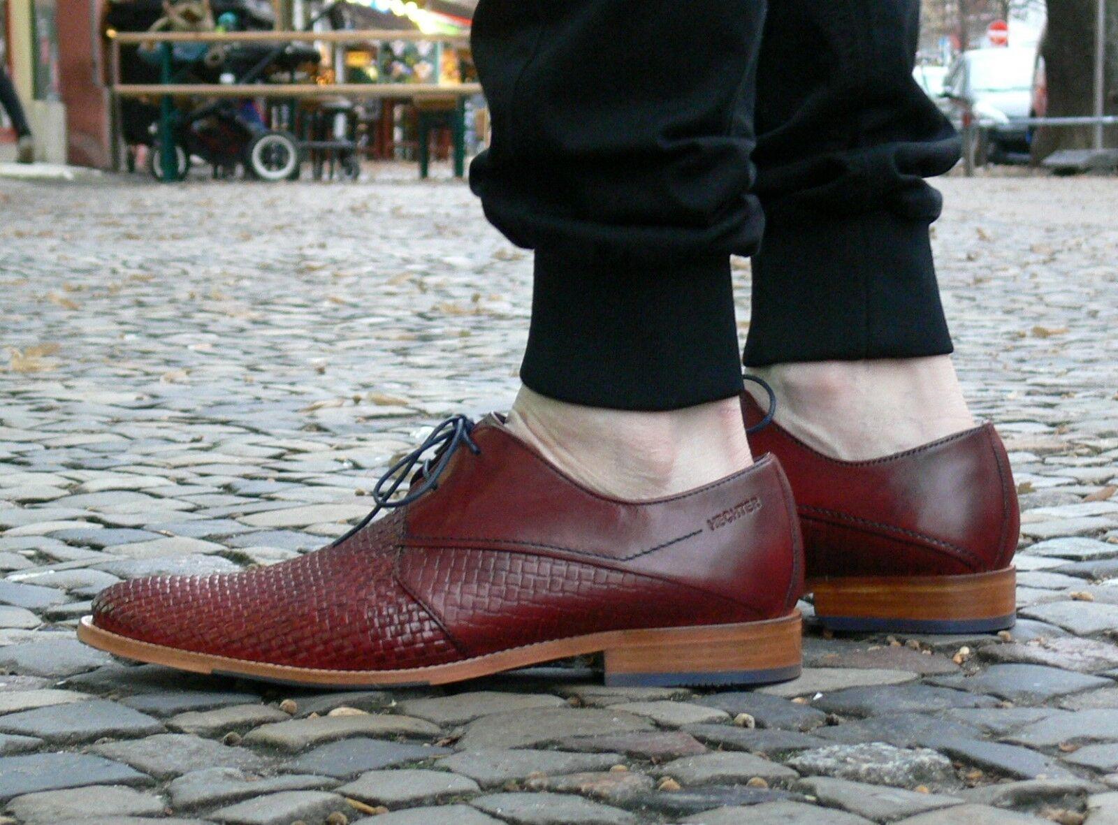 Daniel Hechter Herrenschuhe Louie Red 811-22905-1000-30 Business-Schuhe NEU SALE