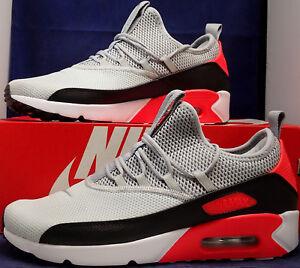 Nike Air Max 90 EZ Pure Platinum Wolf Grey Black Infrared SZ 11.5 ... 7e2199ed3