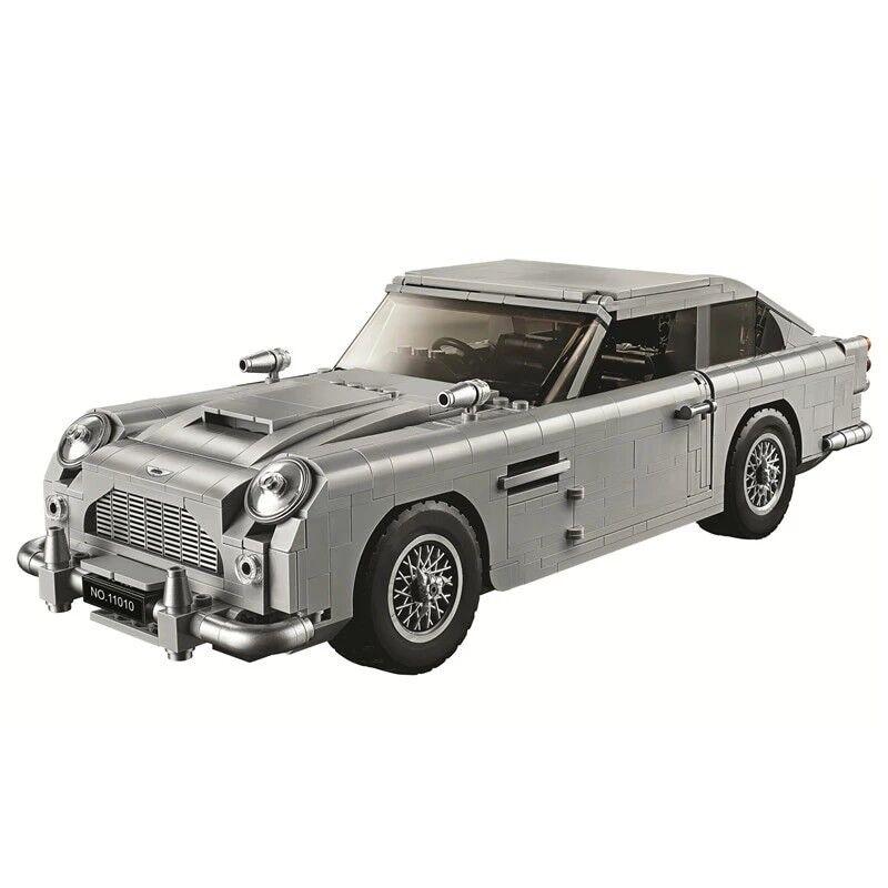 James Bond Aston Martin DB5 Kit de Bloques de Construcción Ladrillos Set Juguetes clásicos de la ciudad