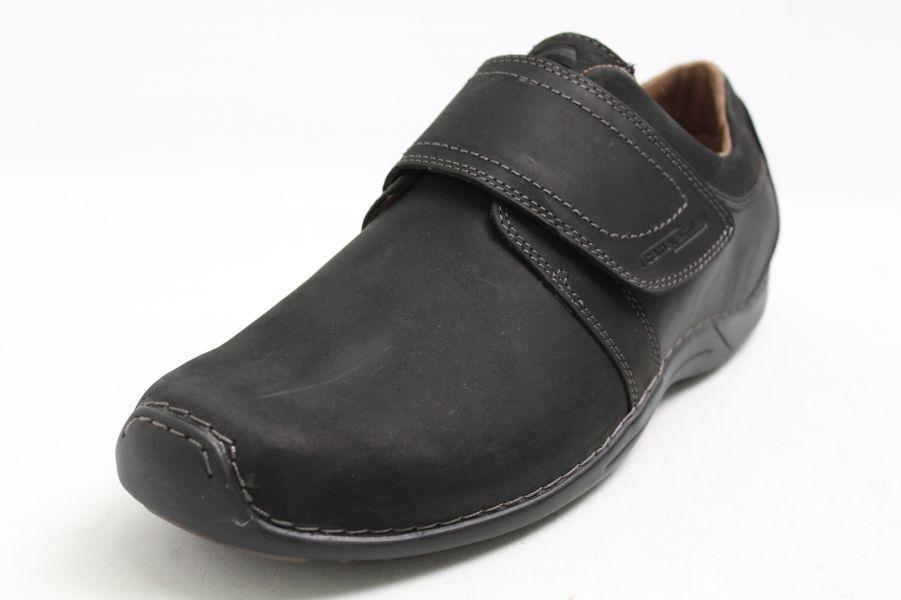 Camel Active zapatos zapatos zapatos negro de cuero velcro cambio plantilla Softwalk Compras en línea venta grande 98876e