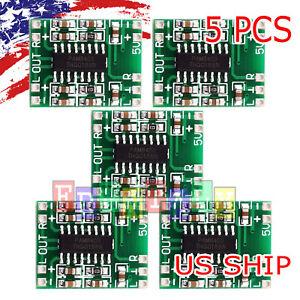 Pam8403 Mini 2 Channel 3w Stereo Class D Audio Power Amplifier Module Board 1pc