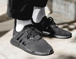 Adidas Nmd R1 Japan Black White Mens Sneakers Bd7754 Ebay