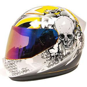 1storm Brand New Dot Motorcycle Street Bike Full Face Helmet